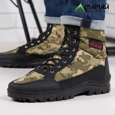 Ботинки мужские камуфляж зимние -20°C / черевики кроссовки Кб 416