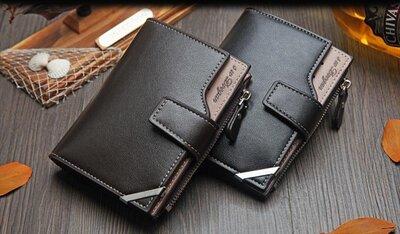 Стильный Мужской кожаный кошелек,портмоне
