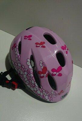 Детский фирменный велошлем. Abus. Германия.