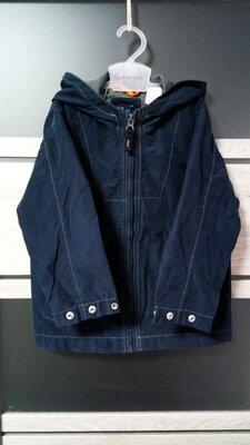 р. 4 /3-4 года - Тонкая легкая куртка ветровка, на подкладке сеточке, GAP