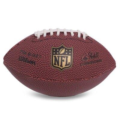 Мяч для американского футбола Wilson NFL Micro Football F1637 резина коричневый цвет
