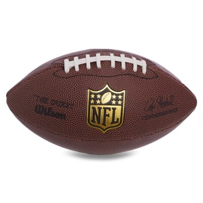 Мяч для американского футбола Wilson NFL Mini Game Ball WTF1631 резина коричневый цвет