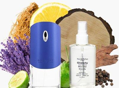 Givenchy Blue label pour Homme мужская парфюмированная вода 110 мл аналог