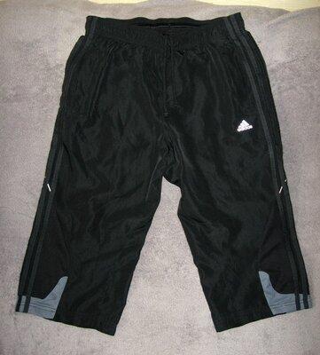Бриджи спортивные длинные шорты , фирменные Adidas Climacool. Оригинал.