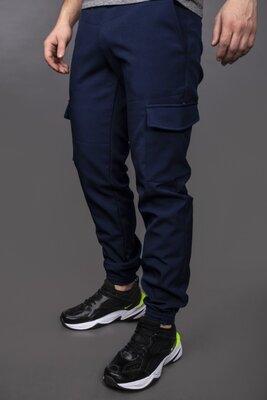 Утепленные штаны Softshell Intruder синие. 1589541305
