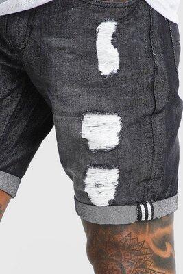Продано: Threadbare.Товар куплен в Англии.джинсовые шорты скини с потертостями.