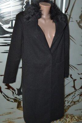 Пальто с накладными карманами New Look