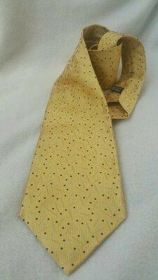 Французский шелковый галстук Lanvin