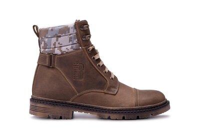 Мужские кожаные зимние ботинки bastion зимние мужские ботинки