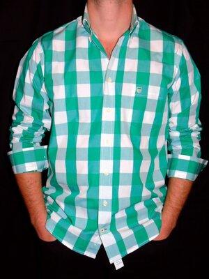 BASEFIELD шикарная брендовая рубашка - M - L