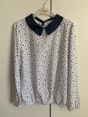 Блуза школьная 152р