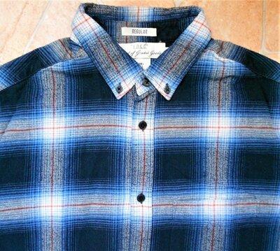 рубашка H&M размер L 50-52