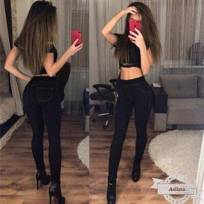 лосины на Меху в стиле джинсов, на Об от 80 до 110 см
