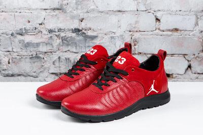 Продано: Мужские кроссовки Jordan 23 из натуральной кожи