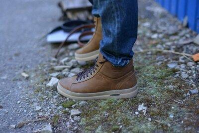 Ботинки натуральная кожа сарагоса рыжие