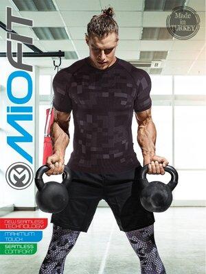 Специальная бесшовная футболка для тренировок, Miofit Lightweight Running