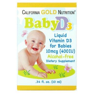 California Gold Nutrition, Витамин D3, вітамін Д3