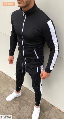 Мужской спортивный костюм EE-2924 турецкая двух нитка