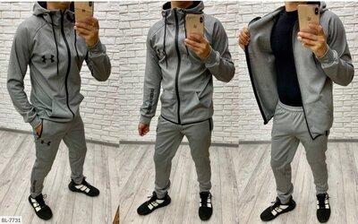 Мужской спортивный костюм термо Under Armour BN-8893 термокопрессионная на флисе