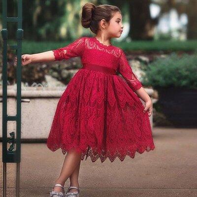 Новиночки Детское нарядное платье, размеры 100- 140