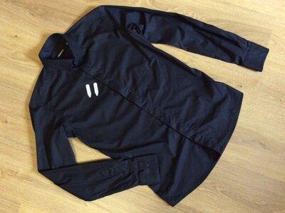 Мужская рубашка LAGERFELD оригинал р 38/90 S-M slim fit
