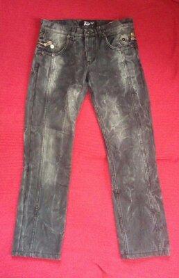 Мужские джинсы на флисе, размер 46-48