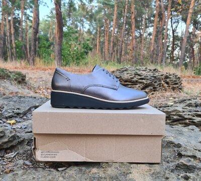 Туфли Clarks Sharon Noel оригинал. Натуральная кожа. 37-41.5