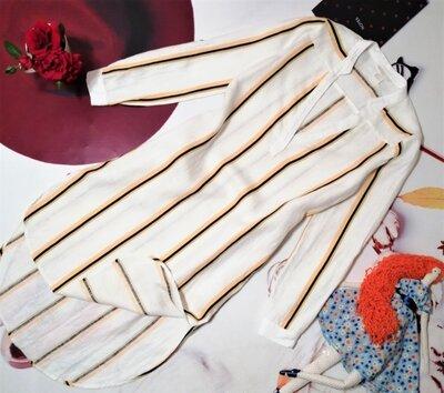 Льняное платье H&M, 100% лен, размер XXS/XS или 4/34