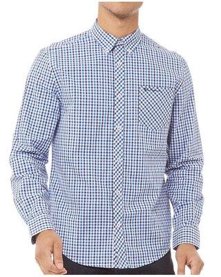 Рубашка с длинным рукавом в клетку ben sherman, оригинал, новая