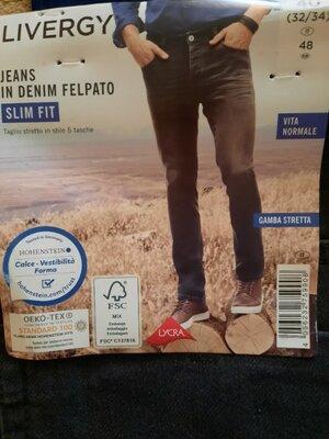 Джинсы Livergy на мужчин, 48 32×34 Slim fit