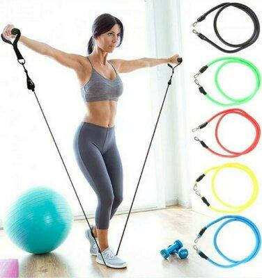 Продано: Набор резиновых экспандеров для тренировки и фитнеса