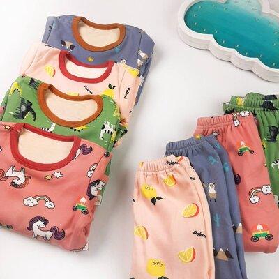 Нежнейшая детская пижама для мальчика для девочки теплая пижама на девочку на мальчика