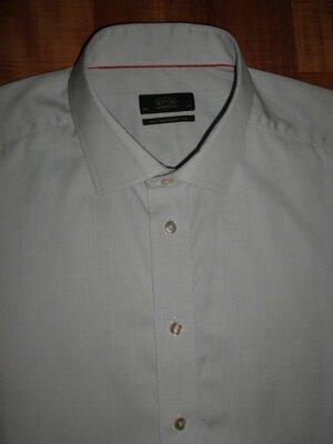 Люкс рубашка Eton Of Sweden XXL tiger isaia lagerfeld kiton