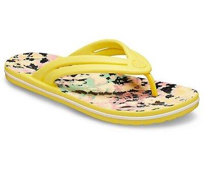 женские вьетнамки crocs Crocband Tie Dye Mania Flip Оригинал все размеры