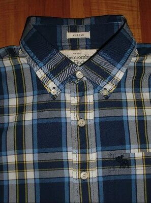 новая рубашка Abercrombie And Fitch New York hurley hollister dunlop