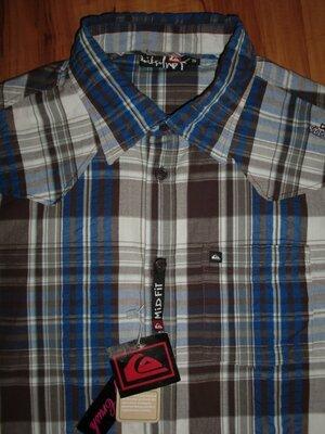 новая рубашка Quiksilver - Rull volcom supreme rossignol oakley