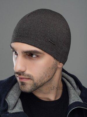 мужская шапка на флисе Сокол лх 7528