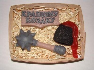 День защитника Украины и День украинского казачества Мыло ручной работы отличный вариант подарка.