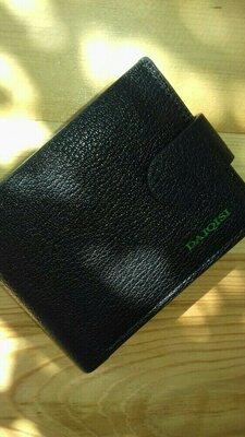 Кошелек портмоне мужской черный кошелёк чёрный