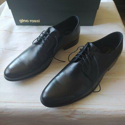 Туфли мужские 43 размер натуральная кожа. Польша