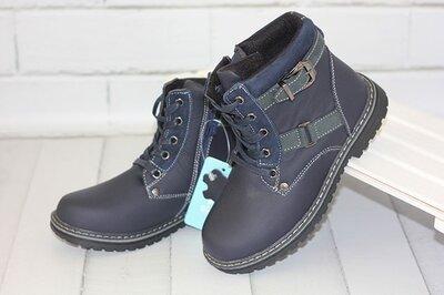 Кожаные ботинки. Размеры 31-36