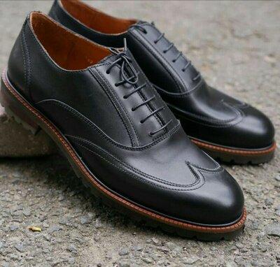 Чоловічі туфлі від українського виробника