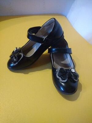нарядные туфли для девочки clibee
