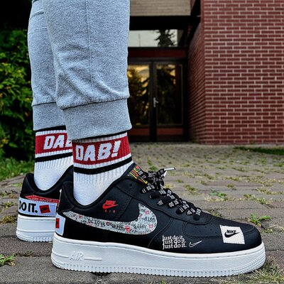 Nike Air Force 1 07 'Just Do It Pack' Black