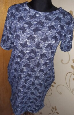 Оригінальна синя сукня XL нова бірки