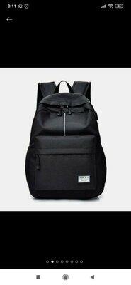 Рюкзак мужской, черный