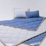 Комплект для сна Goodnight.Store Standart из шерсти мериносов цвет Синий / Белый в синюю полоску