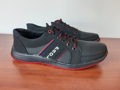 Туфли мужские черные спортивные - туфлі чоловічі спортивні чорні
