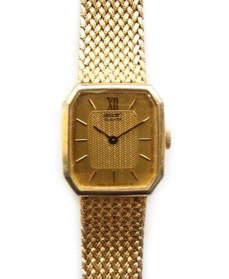 Seiko часы оригинал 1400-8089 в золотом тоне механизм 8 Jewels