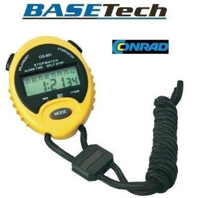 1/100s Точный секундомер электронный CG-501 качество Basetech Conrad Electrinic